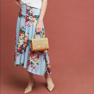 Claudette Midi Floral Skirt - Maeve